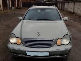 Mercedes-benz C270 dalimis. Rus