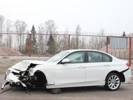 BMW 3 serija dalimis. F30 328xi 2013m. dalimis cic, elektra