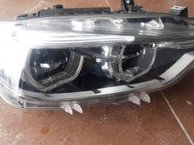 Bmw 3 serija. Dinaminis full led tuscias