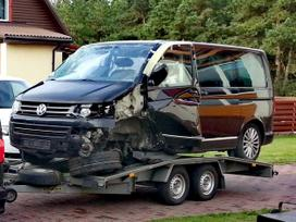 Volkswagen Multivan dalimis. 2014 m. multivan higline alcantara