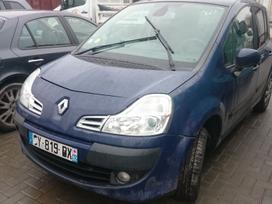 Renault Modus dalimis. Variklio defektas