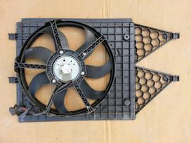 Audi A1 vandens radiatorius, ventiliatorius