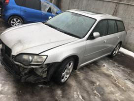Subaru Legacy. Odinis salonas r17 ratai detales galime