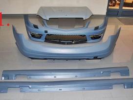 Mercedes-benz C klasė. 1. body kit mercedes