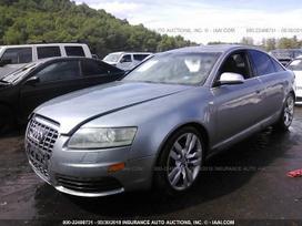 Audi S6 dalimis. 2 automobiliai audi s6 (c6),