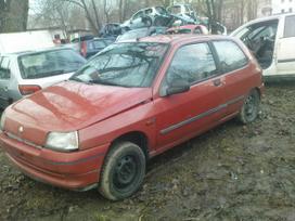Renault Clio dalimis. Esant galimybei,