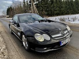 Mercedes-Benz SL500, 5.0 l., kabriolets / roadster