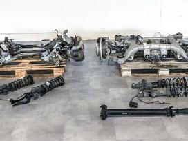 Bmw 6 serija važiuoklės, transmisijos dalys
