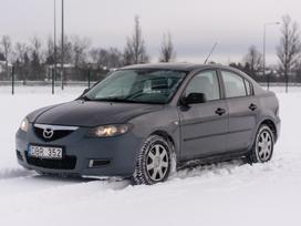 Mazda 3, 1.6 l., saloon / sedan