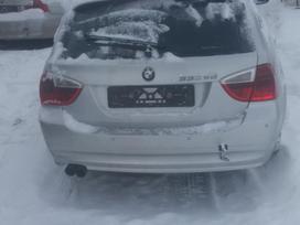 BMW 3 serija dalimis. Panorama, xenon žibintai, xdrive.