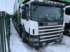 Scania P114, važiuoklės