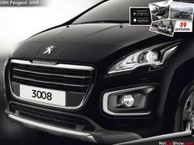 Peugeot 3008 dalimis. Originalios naudotos visų markių