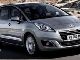 Peugeot 5008 dalimis. Originalios naudotos