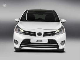 Toyota Verso dalimis. Originalios naudotos
