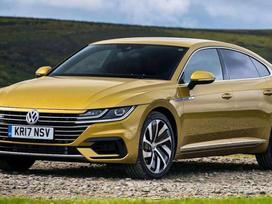 Volkswagen Arteon dalimis. Originalios