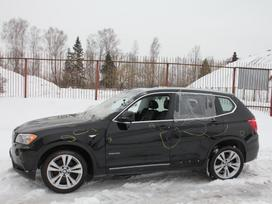 BMW X3 dalimis. F25 3.5i 2011m. dalimis! cic navigacija, liukas,