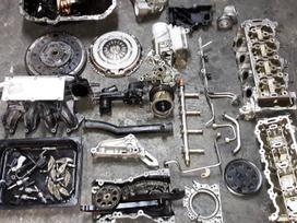 Skoda Fabia variklio detalės