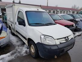 Peugeot Partner dalimis. Prekyba originaliomis naudotomis detalė