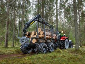 Palms Palms, forestry trailers (self-loading)