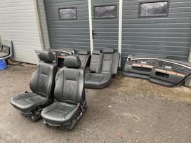 BMW 730. Odinis, šildomas, europinis salonas komplekte su apmuš