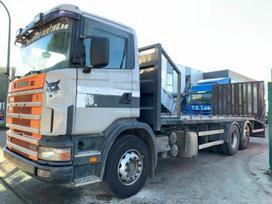 Scania 124g-400, autovežiai