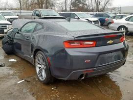 Chevrolet Camaro dalimis. Variklio balkis