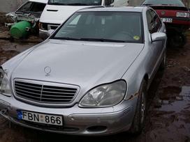 Mercedes-Benz S320 dalimis. Europa dalimis 3,2 dyz 145 kw.