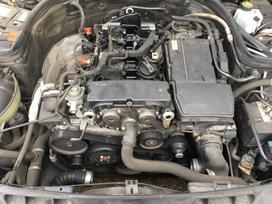 Mercedes-benz C klasė. Variklis dalimis