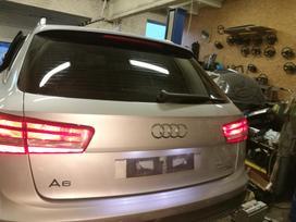 Audi A6 ALLROAD по частям. Variklio kodas cla