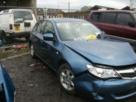 Subaru Impreza dalimis. Turime europini