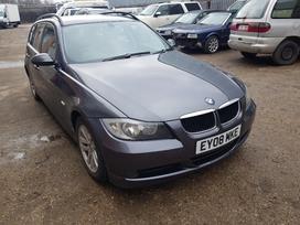 BMW 3 serija. Variklis ir kiti agregatai dirbo tvarkingai. uk