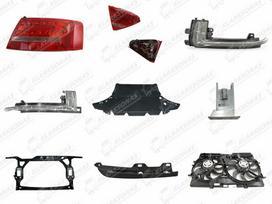 Audi A5 dalimis. Naujos kėbulo dalys platus