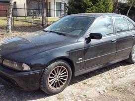 BMW 530. Bmw e39 530d 2002m. sedan  spalva: black sapphire