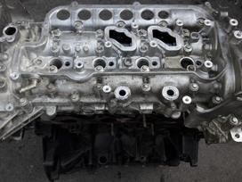 Nissan Qashqai variklio detalės