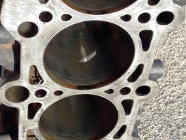 Volkswagen Scirocco alkūninis velenas, stūmokliai, variklio blokas