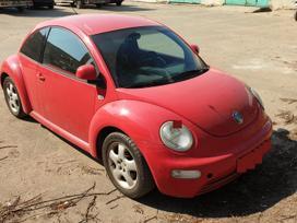 Volkswagen Beetle dalimis. Salonas tvarkingas