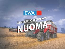 -kita- Traktorių ir kombainų, Žemės ūkio technikos nuoma