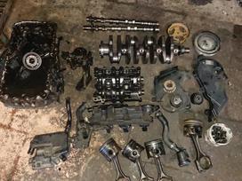 Peugeot 4007 variklio detalės
