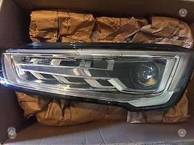 Audi A1. Devetas bamperis nuotraukose,kapotas
