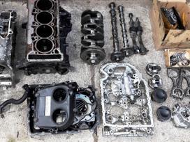 Audi TT variklio detalės