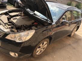 Subaru Outback. Odinis salonas r17 ratai su yokohama padangomis