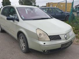 """Renault Vel Satis. UAB """"detalynas"""" naudotos"""