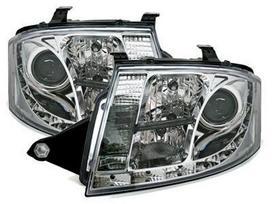 Audi Tt dalimis. Priekiniai tuning žibintai