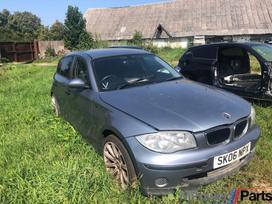 BMW 1 serija. Automobilis parduodamas dalimis turime daugiau