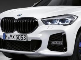 BMW X1. Nauji lci bamperiai,tinka senesniems modeliams su senais