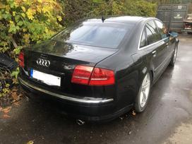 Audi A8 dalimis. Audi a8 4.2i, quattro, vse