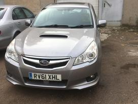 Subaru Legacy. Anglas , variklio defektas .  govirim po russki
