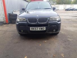 BMW X3 dalimis. M sport turime bmw daliu