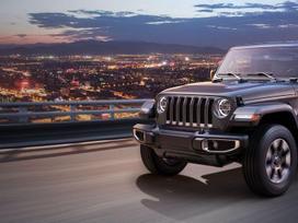 Jeep Wrangler. Naujos originalios automobilių