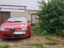 Alfa Romeo 147. 1,9jtd 85kw galimas detalių
